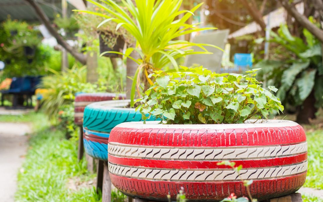 Décoration Jardin Récup : quelques idées créatives à faire soi même !