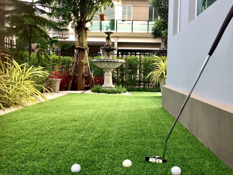 green de golf chez soi