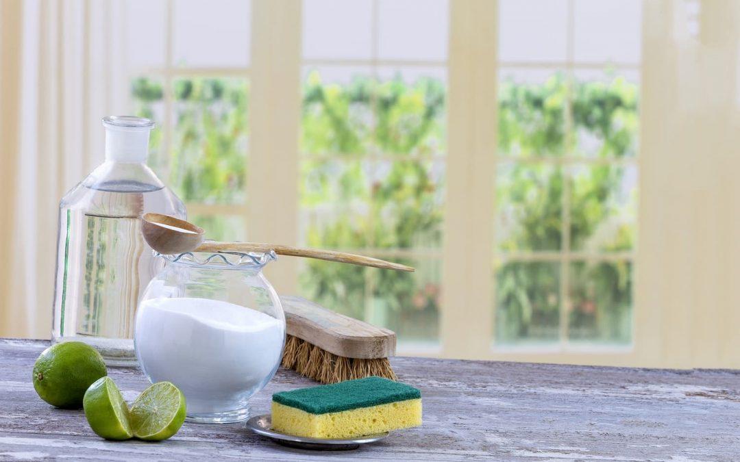 Les 4 méthodes pour faire le ménage de manière plus écologique